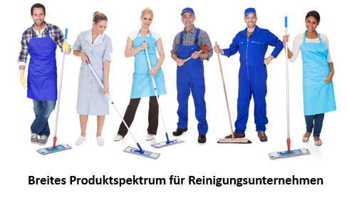 Top Produkte für Reinigungsunternehmen